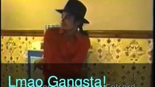Michael Jackson acting Like a Gangsta ♥( Lol funny)♥