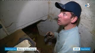 Inondations dans le Bearn : le jour d'après