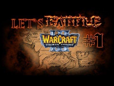Let's Battle - Warcraft 3: Middle Earth Risk - Part #1 [Deutsch/German]: Was man nich alles tut...