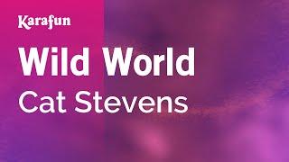 Karaoke Wild World - Cat Stevens *