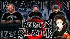 "Demon Slayer 1x26 FINALE REACTION!! ""New Mission"""