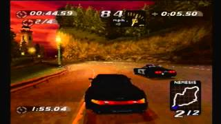 Need For Speed High Stakes PS1: Dolphin Cove Hot Pursuit