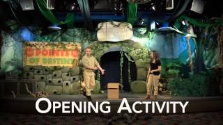 Treasure Quest Opening Activity Rock