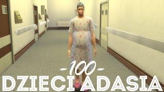 The Sims 4 Pl : Wyzwanie 100 dzieci Adama #140 - Nowy członek rodziny