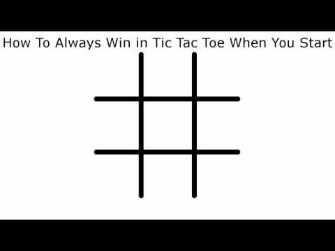 Thumbnail: How To Never Lose in Tic Tac Toe When You Start