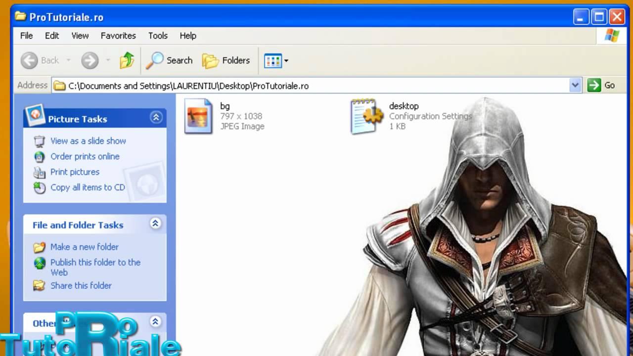 Windows background picture folder - Cum Se Pune Background In Folder Windows Xp