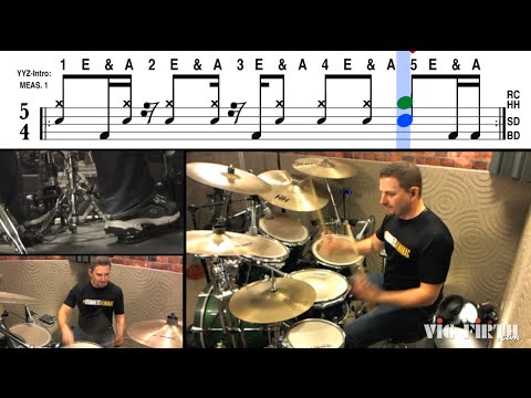 "Groove Breakdown with Jay Fenichel: ""YYZ"" by Rush - Part 1"
