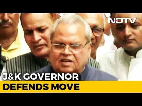 """""""If There's No Phone For 10 Days, So Be It"""": J&K Governor Defends Move"""