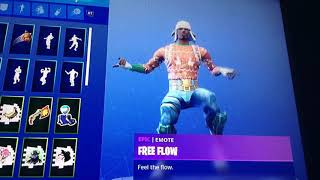 30 seconds of the free flow emote from Fortnite