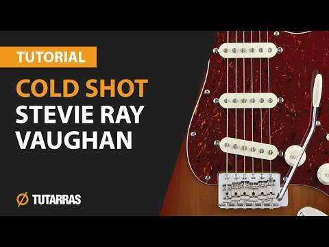 How to play COLD SHOT from STEVIE RAY VAUGHAN- Electric Guitar GUITAR LESSON