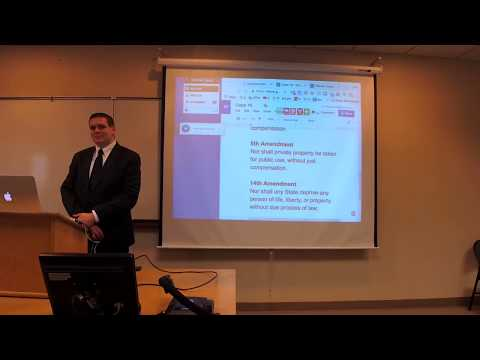 Constitutional Law Class Class 18 - Due Process Clause I