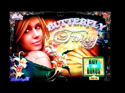 Butterfly Fairy Slot Machine BUY BONUS Feature | Live Bally Slot Play
