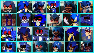 Sonic The Hedgehog Movie - Sonic EXE Uh Meow All Designs Compilation