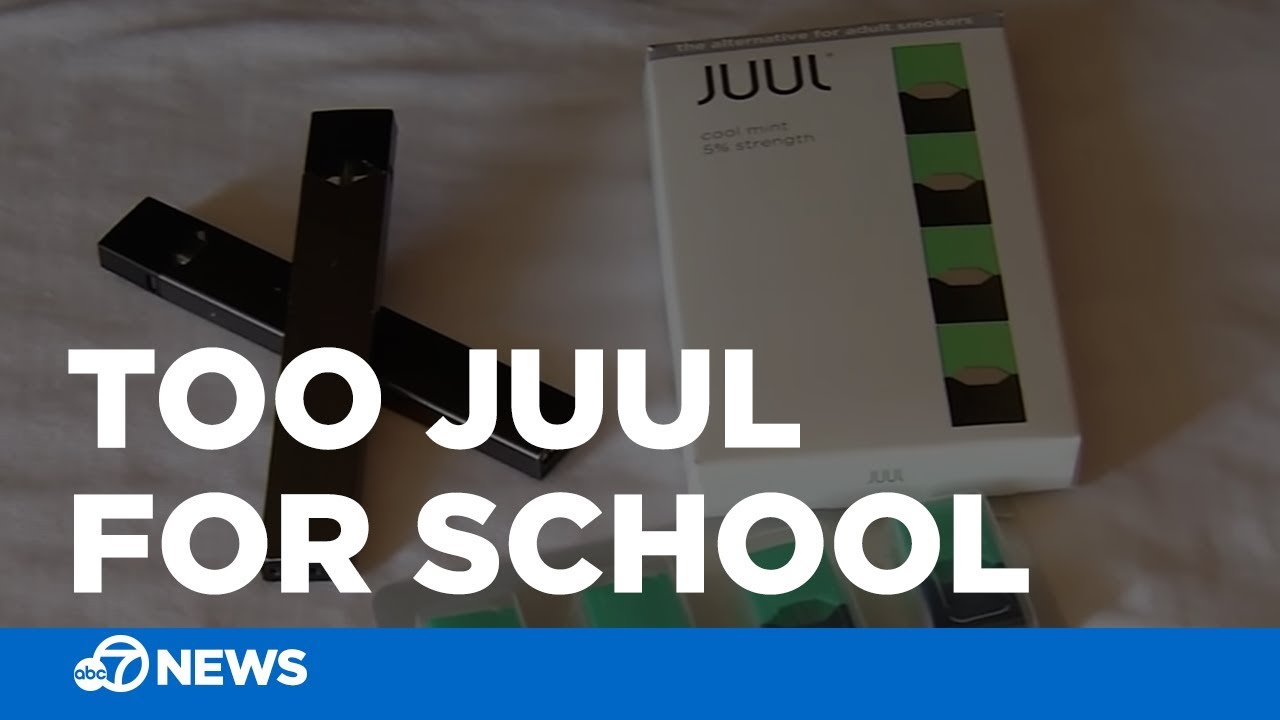 SF Students say JUUL vaporizer easy to use at school