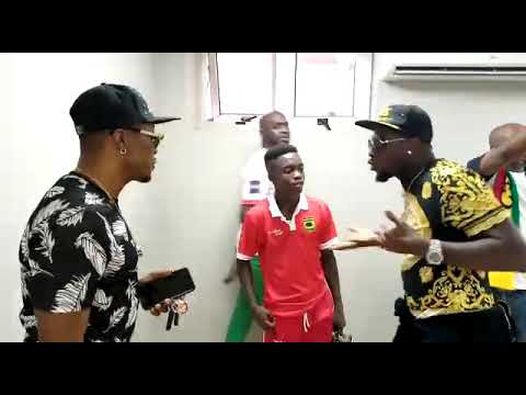 Asamoah Gyan Lectures Kotoko Prodigy Matthew Cudjoe After Heroics In Win Over Hearts