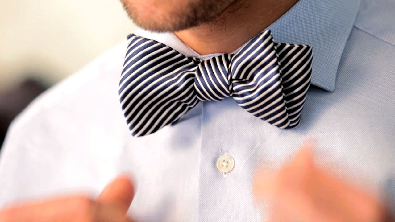 How to Tie a Bow Tie   Men's Fashion - YouTube