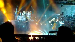 End of Me - Apocalyptica @ Musiikkitalo 11 Sep 2011