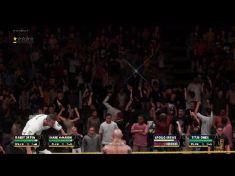 WWE 2K18 - Apollo Glitch
