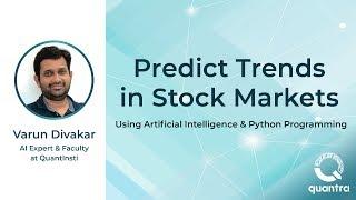 Prédire les Tendances des Marchés Boursiers à l'Aide de l'IA Et de Programmation Python - Sep 5, 2019