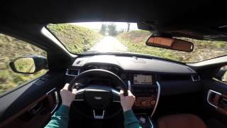 Land Rover Discovery Sport POV test drive GoPro