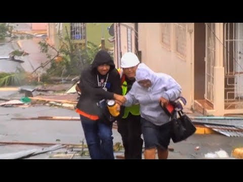 Environmental Disaster Looms in Puerto Rico, Lashed by Hurricane Maria & Left Without Power