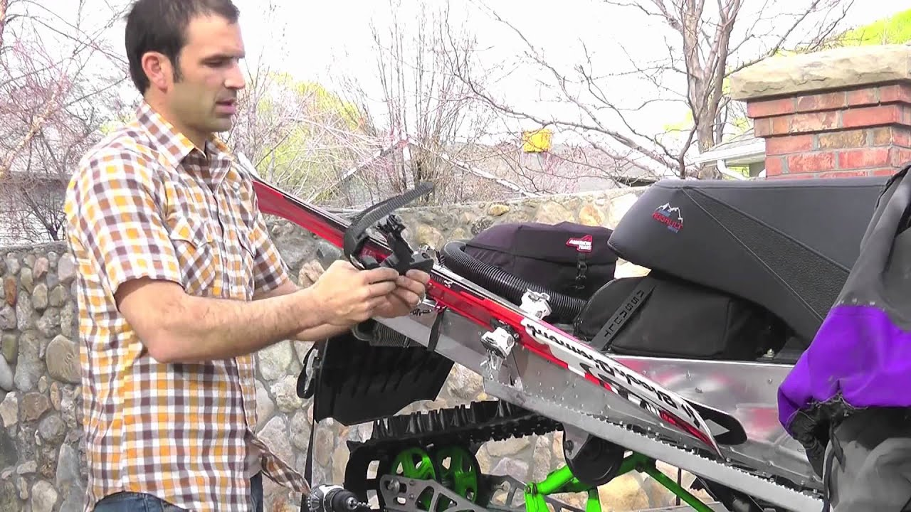 Back Country Adventure Gear New Rack System Arctic Cat 09 ...