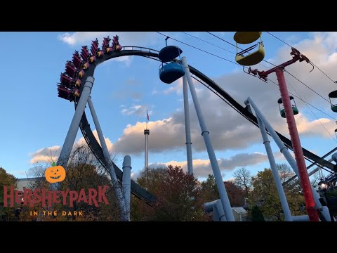 Is hersheypark in the dark scary