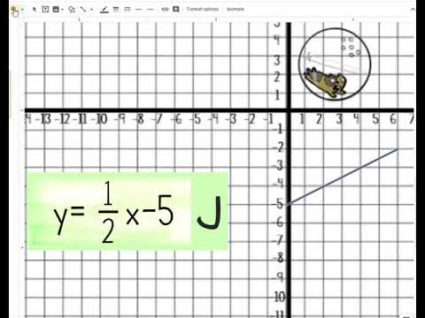 Student Instructions Digital Graphing Lines Zombies Youtube