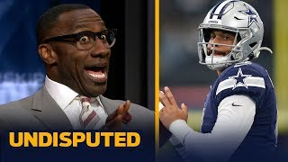 Shannon Sharpe warns the Cowboys not to use their franchise tag on Dak Prescott | NFL | UNDISPUTED
