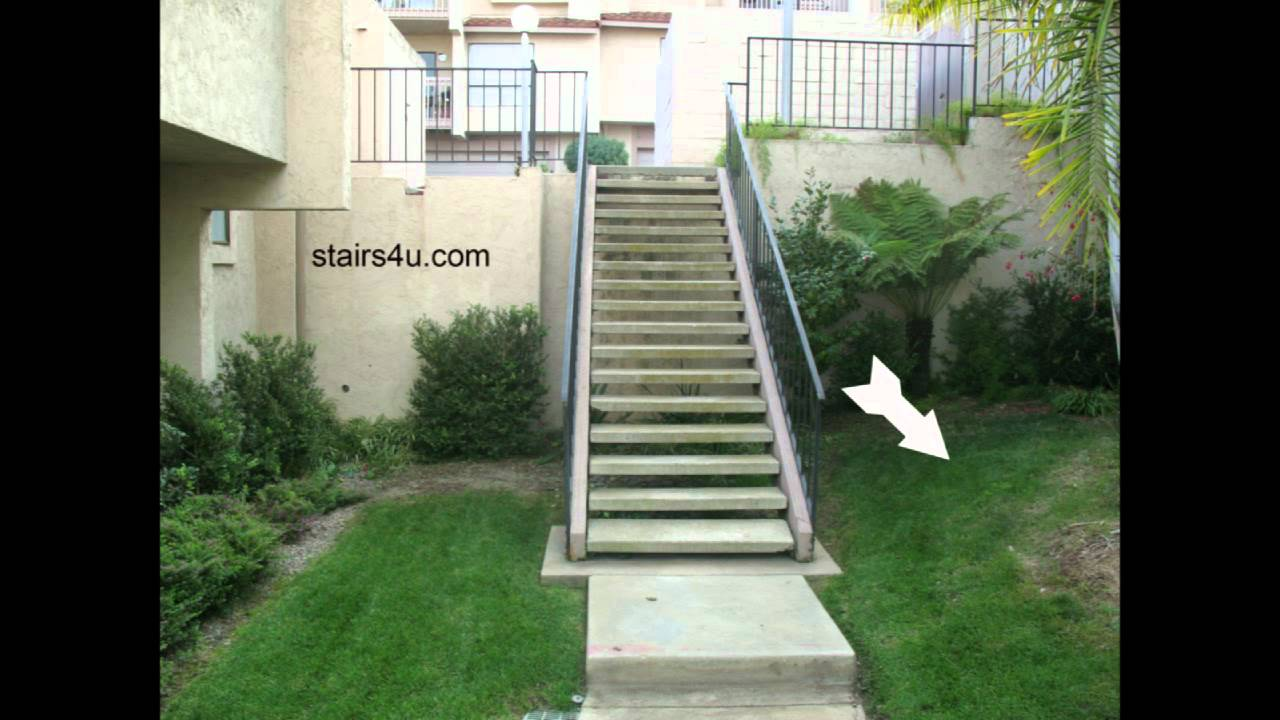 Exterior Wood Stairway Problems - Landscaping And Design ...