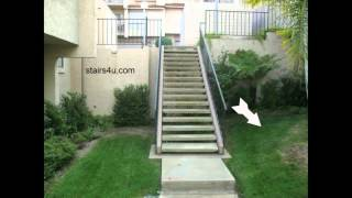 Exterior Wood Stairway Problems - Landscaping And Design