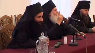 Беседа игумена Ефрема со студентами духовных училищ. 2011 г.
