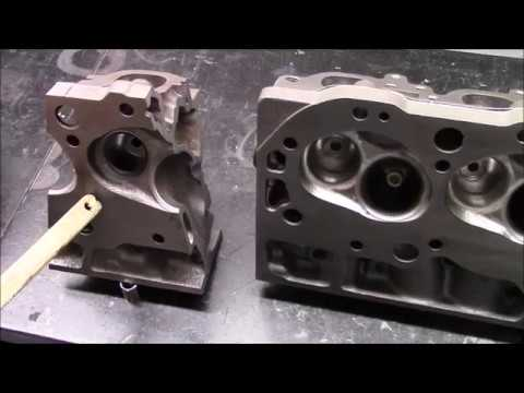 Part 24 - Porting The Exhaust Port and Combustion Chamber 781 Head - 620HP  454 Chevy Engine Build