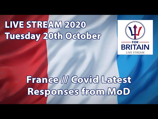 For Britain Live: 20th October 2020