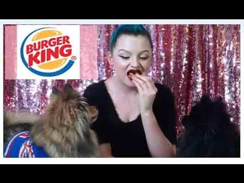 Burger King Mukbang Vegetarian Eating Show