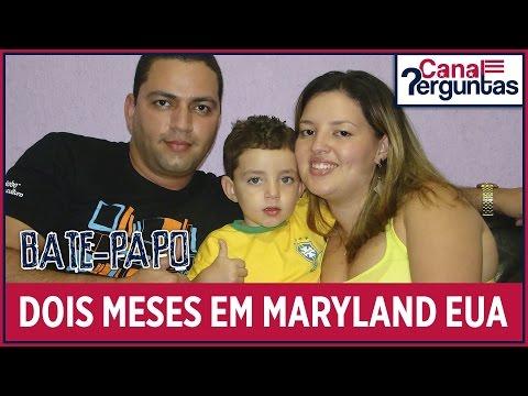 🔴[AO VIVO] Vida de imigrante morando 2 meses em Maryland EUA ✔