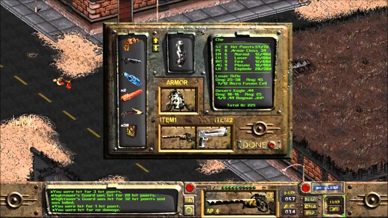 تحميل لعبة نهاية العالم الجزء الاول - Fallout: A Post Nuclear Role Playing Game