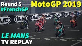 MotoGP French GP 2019 | Championship #5 | TV REPLAY | PC GAME MOD 2019