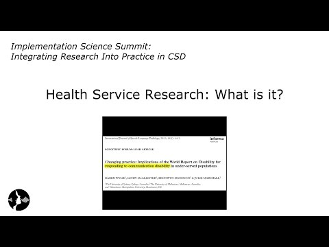 Michael Weiner: Health Service Research