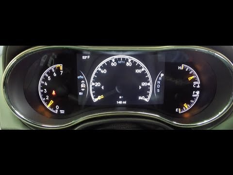Jeep 7-Inch Multi-View Display Overview