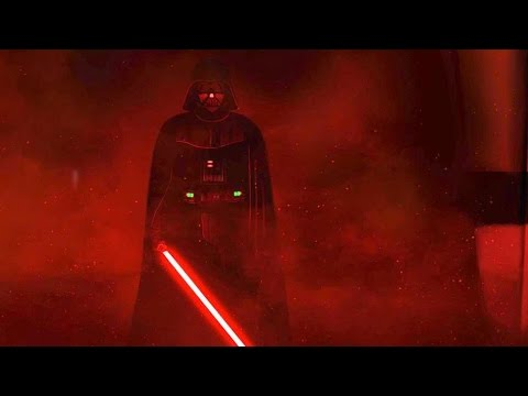 Darth Vaders rage  Star Wars: Rogue One Ending scene