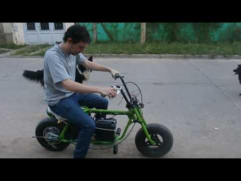 MIni Moto Electrica casera 800W
