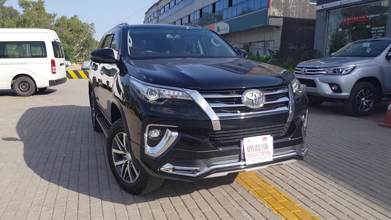 TOYOTA FORTUNER 2018 REVIEW FIRST LOOK TEST DRIVE Pakistan