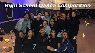 What a highschool dance competition is really like.