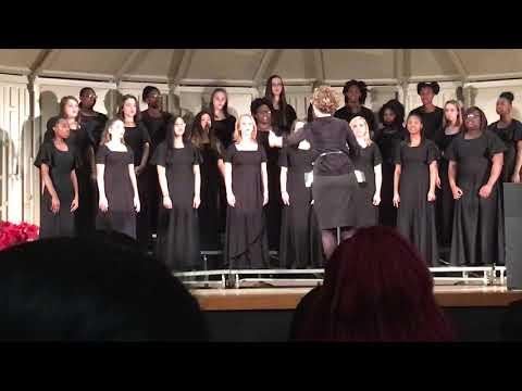 Sisters Chorus Concert at Hardaway High School