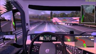 Euro Truck Simulator Multiplayer Mod (includes dick player) (Osnabrück - Dortmund)