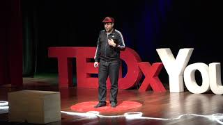 Challenging our lazy brain | Ronald Paredes | TEDxYouth@NIS