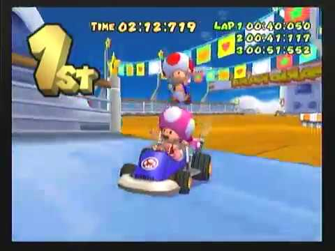 Mario Kart Double Dash Toad And Toadette