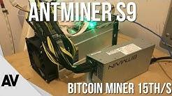 Bitcoin Miner 15th/s  |  Antminer S9