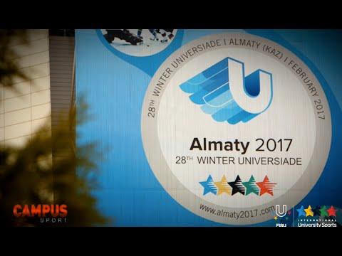 28th Winter Universiade, Almaty, Kazakhstan - 31th CAMPUS Sport TV Show - FISU 2015